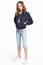 Skinny fit Capri Jeans - Pale denim blue -  | H&M CN 1