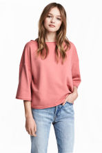 Sweatshirt top - Light terracotta - Ladies | H&M 1