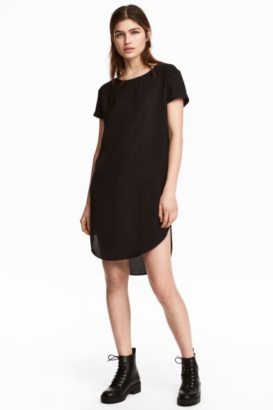 Abito corto - Nero - DONNA | H&M IT 1