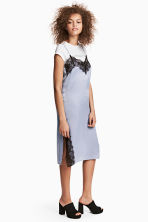 Slip dress - Light blue - Ladies | H&M CA 1
