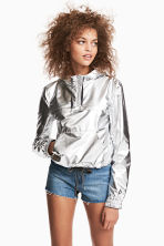 Shimmering metallic jacket - Silver - Ladies | H&M 1