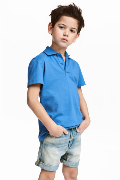 Polo衫 - Bright blue -  | H&M 1