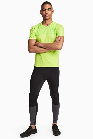Leggings da running - Nero - UOMO | H&M IT 1