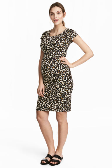 MAMA Jersey dress - Leopard print -  | H&M