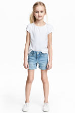 Denim shorts - Light denim blue - Kids | H&M CA 1