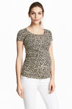 MAMA Jersey top - Leopard print - Ladies | H&M 1