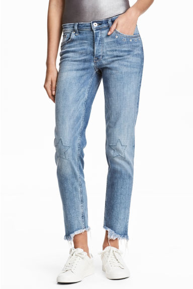 Loose Regular Jeans - Denim blue - Ladies | H&M 1