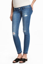 MAMA Skinny Jeans - Blu denim medio - DONNA | H&M IT 1