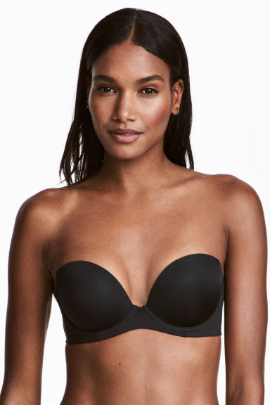 Strapless super push-up bra - Black - Ladies | H&M 1