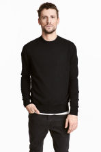 Cashmere jumper - Black - Men | H&M 1