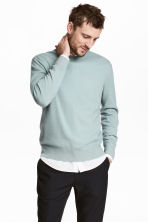 Cashmere jumper - Light petrol - Men | H&M CN 1