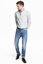Selvedge jeans - Blue washed out - Men | H&M CN 1