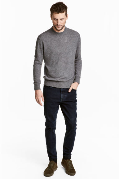 Slim jeans - Dark denim blue - Men | H&M CA 1
