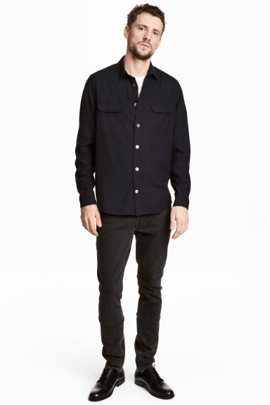 Slim jeans - Black washed out - Men | H&M CN 1
