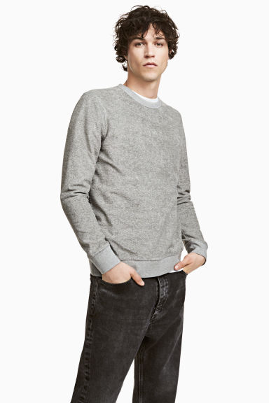 Sweatshirt - Grey - Men | H&M