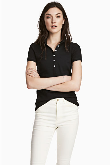 Polo - Nero - DONNA | H&M IT 1