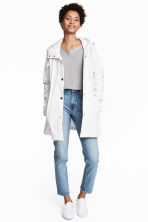 Rain jacket - White - Ladies | H&M 1