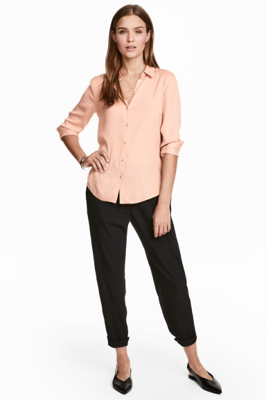 Pull-on broek - Zwart - DAMES | H&M BE 1