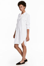 Long shirt - White - Ladies | H&M 1
