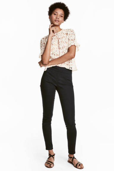 Treggings - Black -  | H&M IE