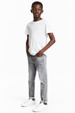 Skinny fit Jeans - Grey washed out -  | H&M 1