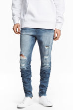 Slim Low Joggers - Denim blue - Men | H&M CN 1