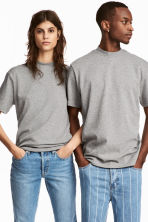 Uni Tee - Grey marl - Men | H&M CN 1