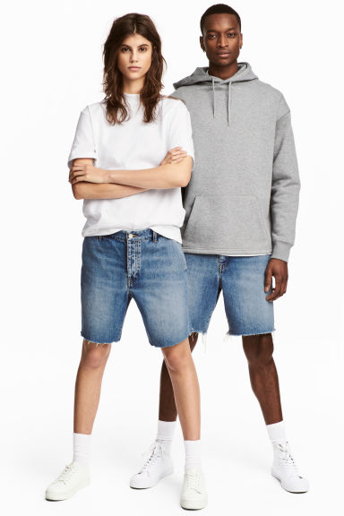 Uni Shorts - Bleu denim -  | H&M BE