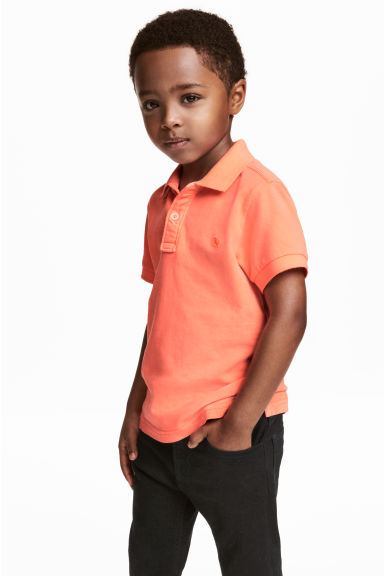 Polo shirt - Coral - Kids | H&M CN