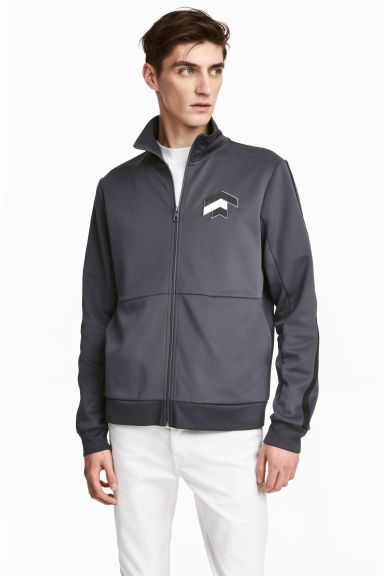 Sports jacket - Dark grey - Men | H&M CN