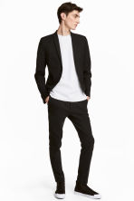 Suit trousers Skinny fit - Black - Men | H&M 1