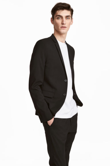 Jacket Skinny fit Model