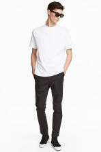Cotton chinos Slim fit - Anthracite grey - Men | H&M 1