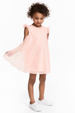 Tulle dress - Light pink/Glittery - Kids | H&M 1