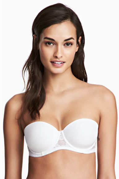 2-pack strapless bras - White - Ladies | H&M 1