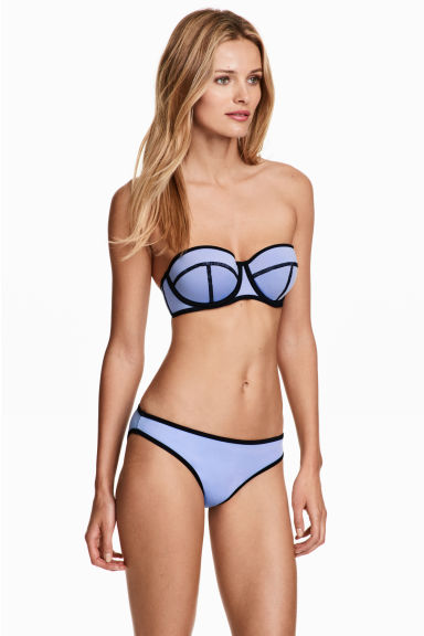 Bikini bottoms - Lavender blue - Ladies | H&M 1