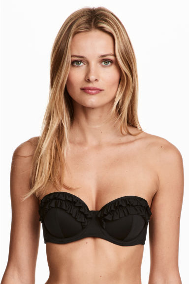 Balconette bikini top - Black - Ladies | H&M 1