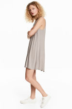 V-neck jersey dress - Light mole - Ladies | H&M 1