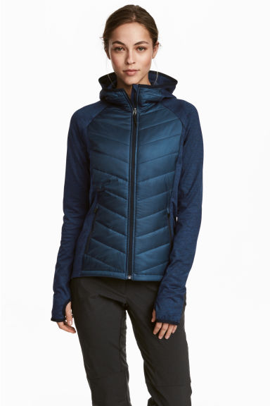 Outdoor jacket - Dark blue - Ladies | H&M