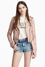 Denim shorts Skinny Regular - Denim blue -  | H&M 1