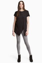 Biker leggings - Dark grey - Ladies | H&M 1