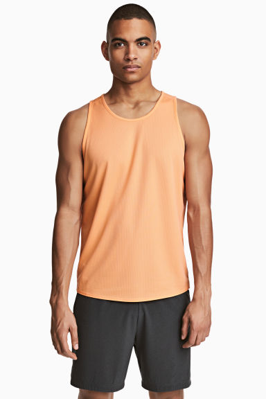 Débardeur running - Orange - HOMME | H&M FR