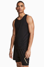 Canotta da running - Nero - UOMO | H&M IT 1