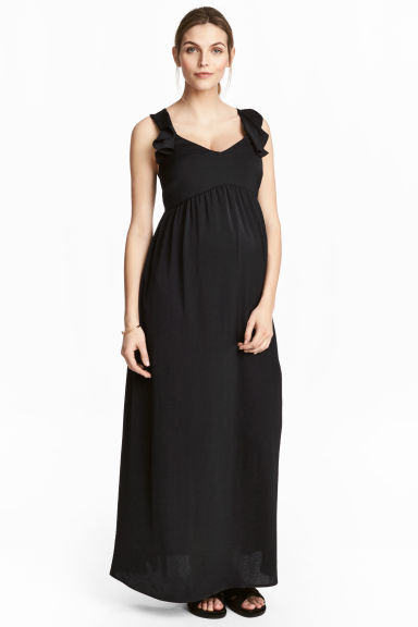 MAMA Long dress - Black -  | H&M CA 1