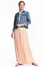 Wide trousers - Powder pink - Ladies | H&M 1
