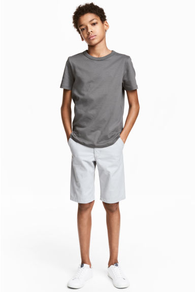 Short chino - Gris clair -  | H&M FR 1