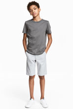 Chino shorts - Light grey -  | H&M 1
