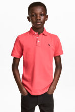Polo shirt - Coral red - Kids | H&M 1