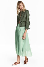 Tulle skirt - Mint green - Ladies | H&M CA 1