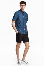 Short chino shorts - Black - Men | H&M 1